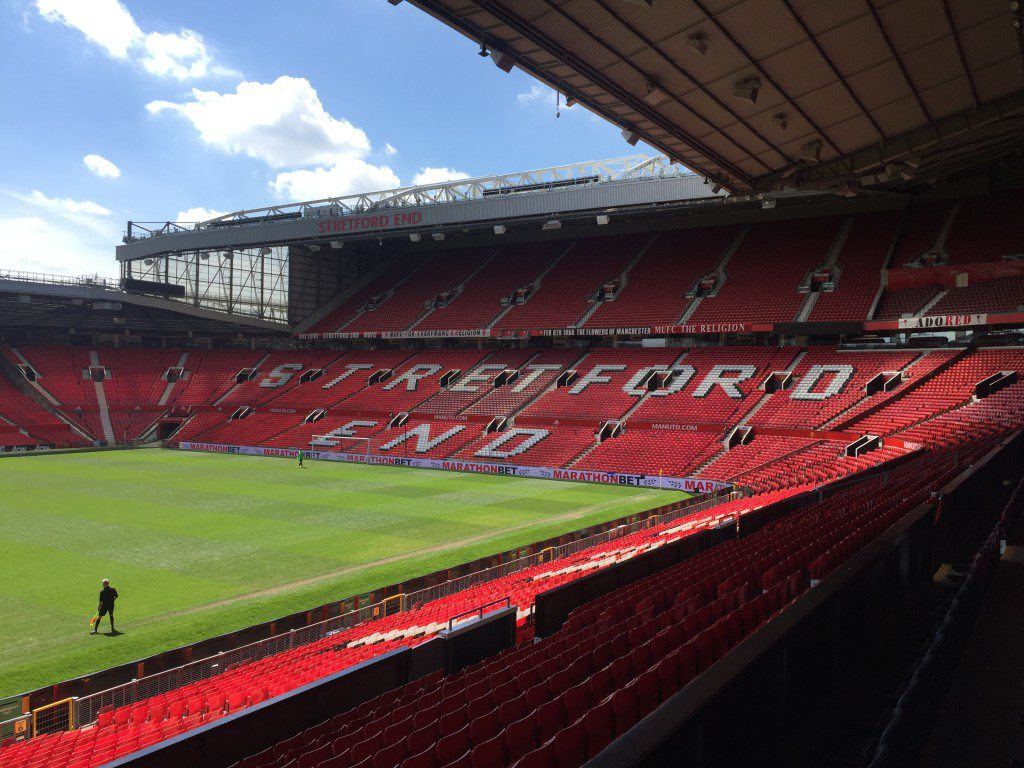 Old Trafford on the Stadium tour